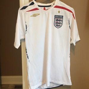 England National Football (Soccer) Jersey 2007-09